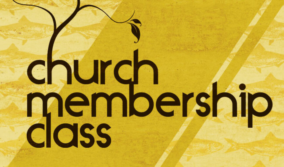 Christian-Education |Membership Class