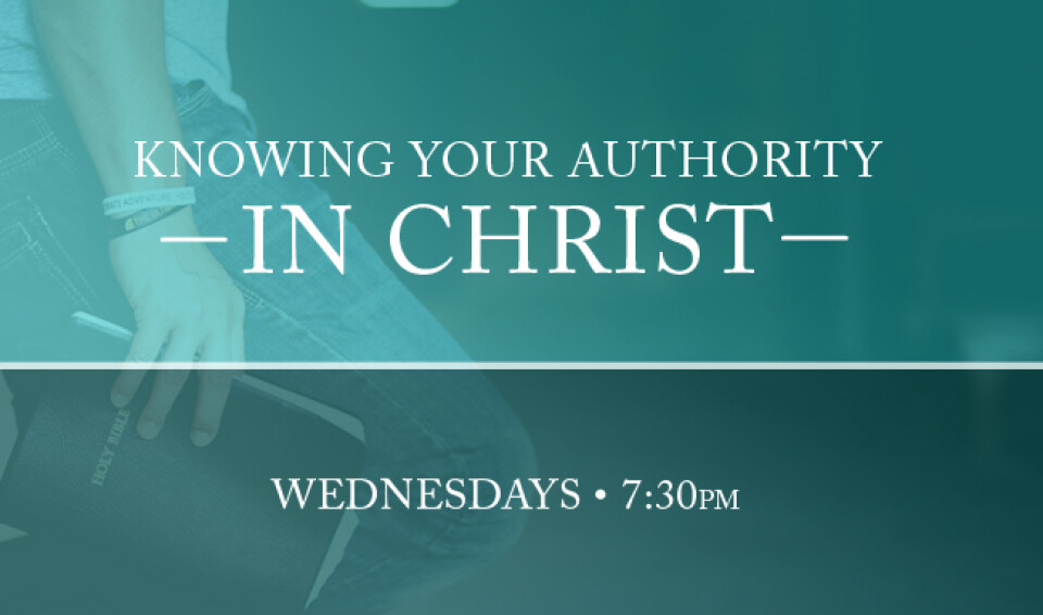 Knowing Your Authority in Christ - Bible Study